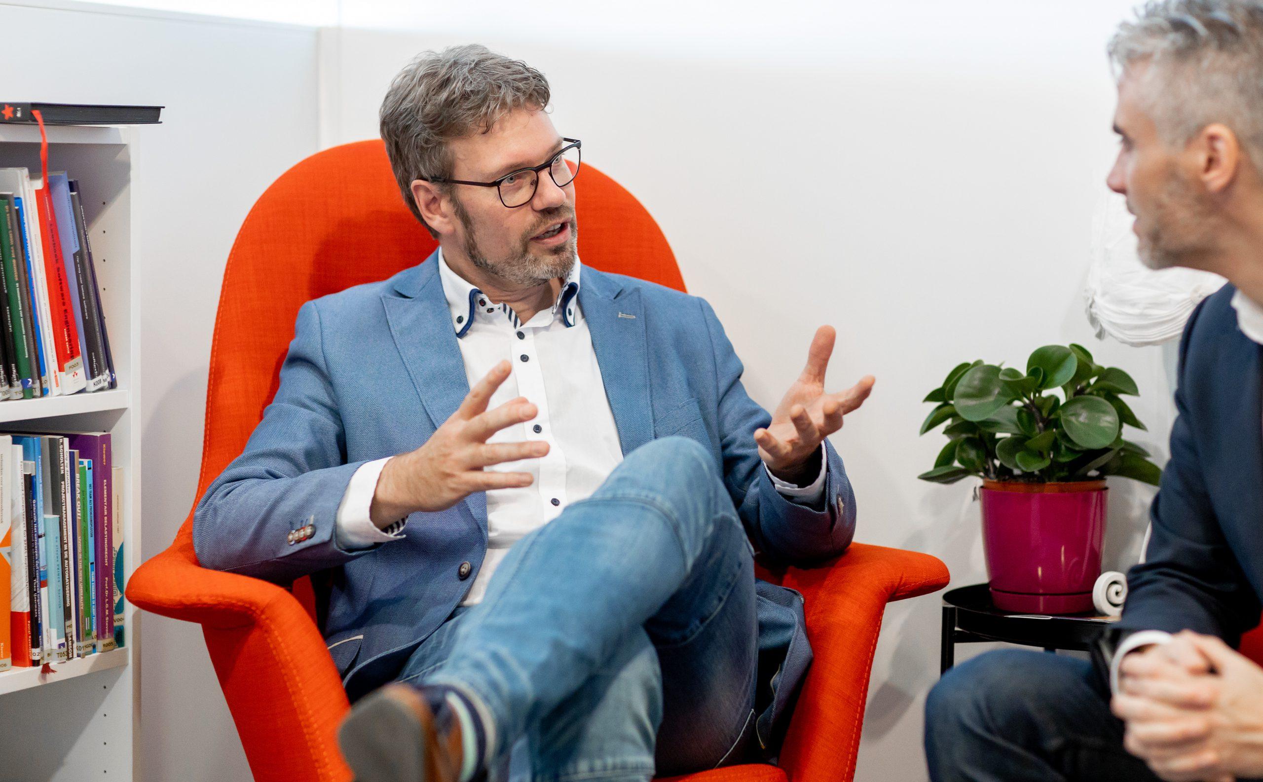 Derk-Jan de Grood en Adrian Canlon van Squerist.