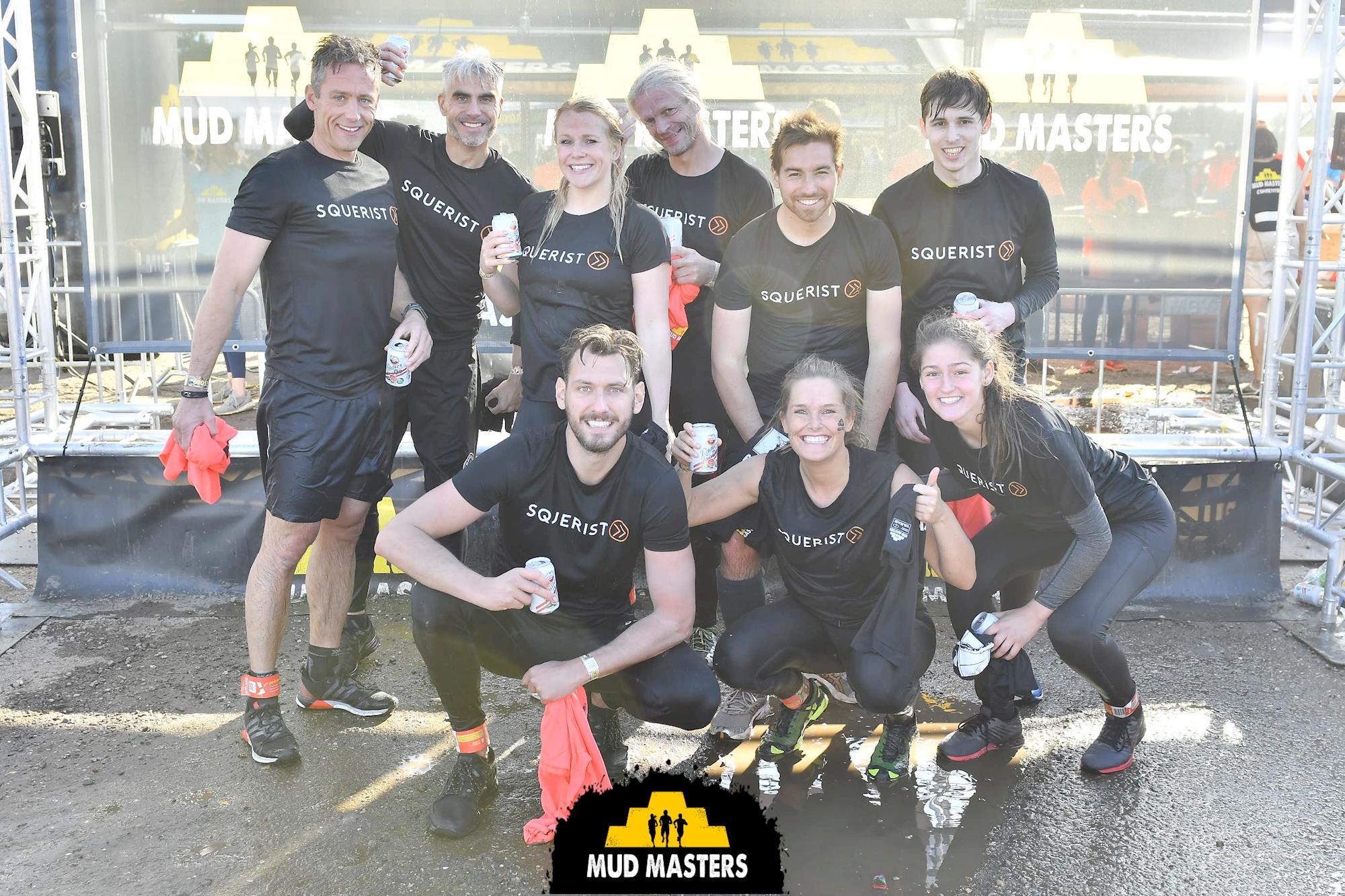 Squerist Nieuws Mud Masters Finish Foto