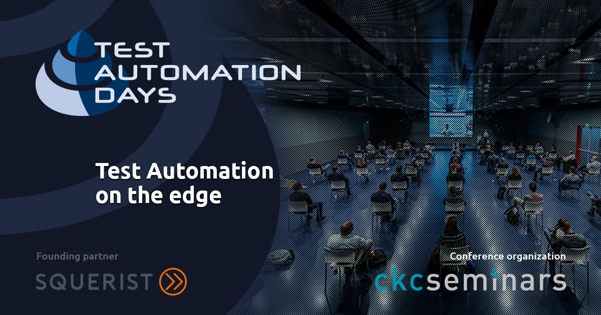 test automation days
